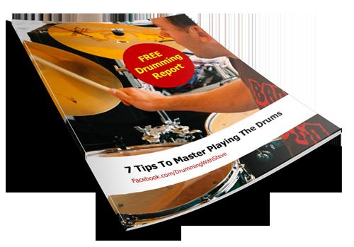 E-cover van Free Drumming Report